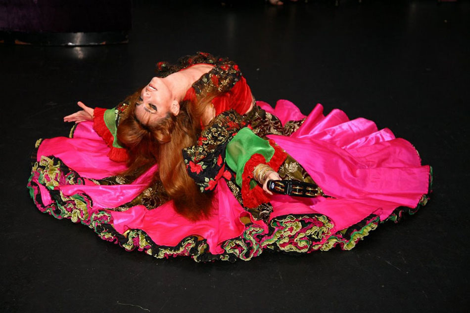 Gypsy dancer New York City