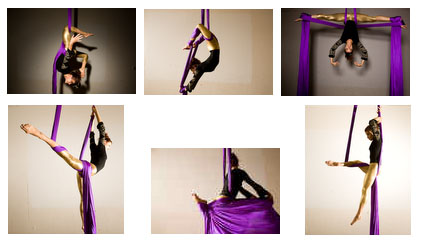 Aerial Silk Artist Aerial Silks Artist Gina