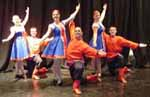 Kalinka dancers